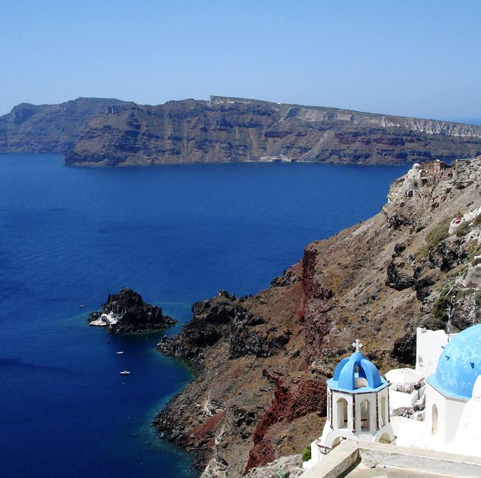 Croisière à Santorini