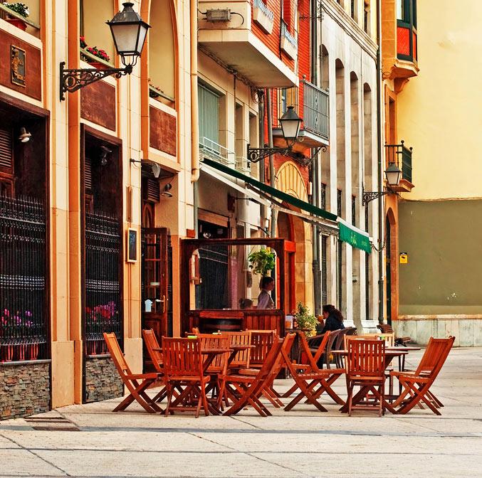 Terrasse à Séville, Espagne