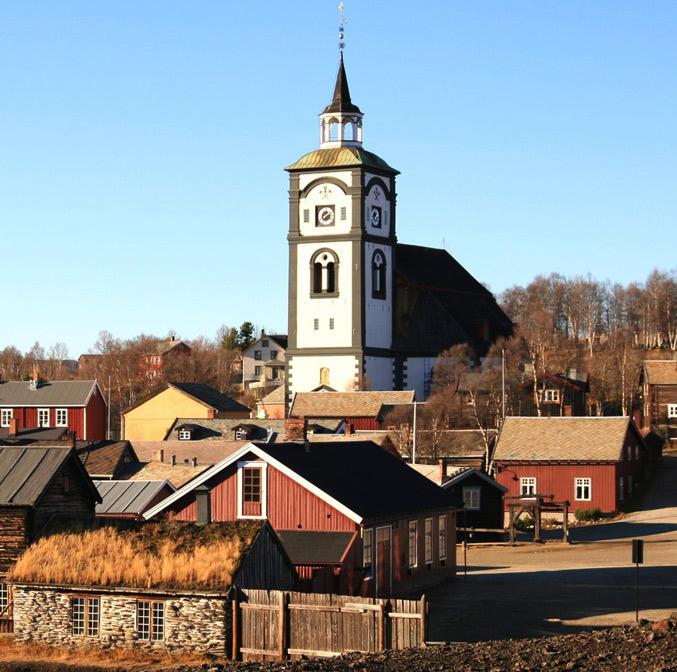 La ville minière de Røros