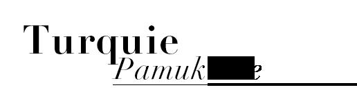 Turquie Pamukkale