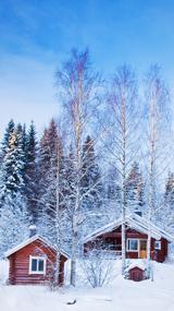 Finlande, Luosto / aventure